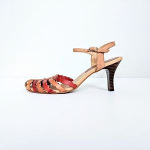 Passofino Strappy Leather Sandals Made in Brazil